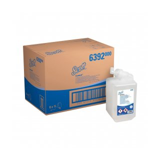 Hand disinfection foam, 4x1.2L, with alcohol, approx. 2500 portions (KC 6392)